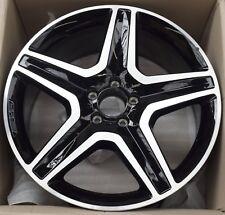 "MERCEDES 20"" AMG 5 Spoke Alloy Wheel Genuine 9j M Ml W166 A1664012002"