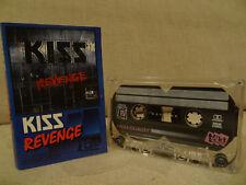KISS Revenge / 1992 / MC CASSETTE VAN HALEN, METALLICA