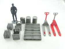 Diorama Parts Storage / Logistic Equipment Many Elements Scale 1:24 Unpainted