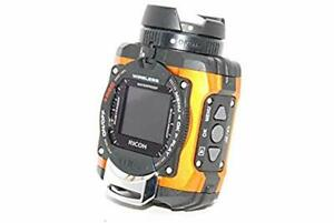 Used WG-M1 OR 08286 RICOH Waterproof Action Camera Orange F/S from JAPAN