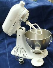 Kitchen Aid Ultra Power 300 Watt Stand Mixer KSM90WW W. Attachment  USA vintage