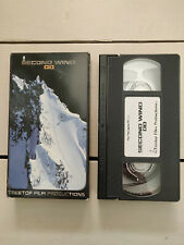 SECOND WIND 00 VHS snowboard video extreme sports winter