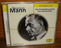 CD Hörbuch Thomas Mann Das Eisenbahnunglück DGG Deutsche Grammophon
