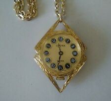 Vintage Octra Swiss Pendant Fob Watch in Excellent Working Order