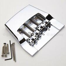 Novo Hipshot 4 Cordas Ponte Baixo Rickenbacker de substituição de Alumínio-Cromado