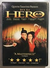 Hero (Dvd, 2004) Jet Li, Donnie Yen-Quentin Tarantino Film Brand New & Sealed