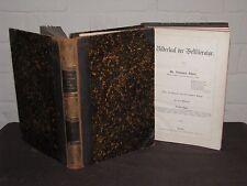 Bildersaal der Weltliteratur Volumes 1 & 3 Gothic German, Leather binding