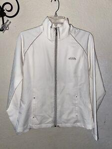 TAIL Brand Cream Full Zip Mock Neck Long Sleeve Golf Jacket M