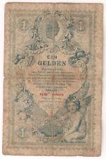 AUSTRIA 1 GULDEN 1888 U