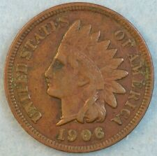 1906 Indian Head Cent Penny Liberty Very Nice Vintage Old Coin Fast S&H 34007