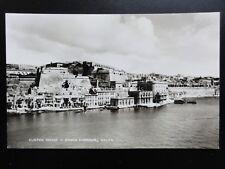 Malta: CUSTOM HOUSE, GRAND HARBOUR - Old RP Postcard