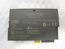 Siemens 6ES7 131-4BF50-0AA0 8 DI DC24V Simatic S7 PLC I/O Digital Input Module