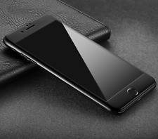 iPhone 6+ Full Cover Silikon Schutzglas Screen Protector Glas Display 3D Black