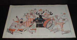 LQQK  vintage 1919 original RISQUE FRENCH ART from LA VIE PARISIENNE #26