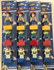 *BRAND NEW* Lego Toy Story Magnet Set 852949 Woody Buzz Lightyear Alien *4 SETS*