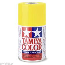 Adhésifs, peintures et finitions jaunes Tamiya pour véhicule radiocommandé