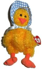 Vintage 1993 TY Bonnie The Chick Attic Treasures Jointed With Bonnet & Bow