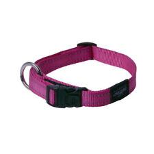 Rogz Utility Bright Reflective Durable Dog Collar, Pink