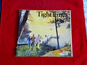 ABU TIGHT LINES ADVERTISING FISHING CATALOGUE 1987