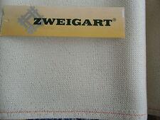 ZWEIGART - 3256  BELLANA  weiß/silber-Stickstoff  Hardanger Kreuzstich - 8-fäd.