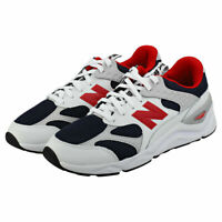 New Balance X-90 Reconstructed White Navy Red Running Shoe [MSX90TBD] men's 10 D