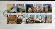 GB 2017 Commemorative Very fine used set of Landmark Buildings Stamps