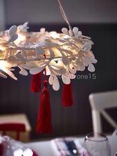 IKEA Strala Hängeleuchte LED Kranz Pendelleuchte Adventskranz Licht Leuchte Neu