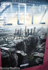 Cinema Banner: 2012 2009 (Bridge) John Cusack Woody Harrelson Thandie Newton