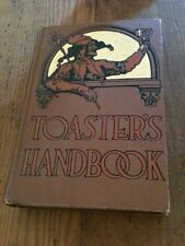 Toasters Handbook Complied by Edmund and Williams From 1941