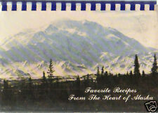 ANCHORAGE AK 1985 FROM THE HEART ALASKA COOK BOOK * ASSEMBLY OF GOD CHURCH *RARE