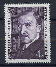 AUSTRIA 1981 MNH SC.1199 Stefan Zweig,poet
