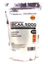 200 SERVINGS 100% BCAA AMINO ACID 1000g L-VALINE L-LEUCINE L-ISOLEUCINE POWDER