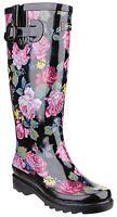 Cotswold Rosefest Waterproof Womens Wellington Boots Ladies Rubber Wellies UK3-8