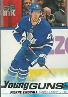 2019-20 Series 2 Young Guns #476 Pierre Engvall Toronto Maple Leafs Rookie