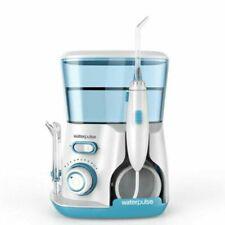 WaterPulse V300 Irrigator Oral Dental Electric Power Floss 5 Jet Tips  Aqua EU