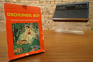 Atari 2600 Game Jungle Boy - Boxed / Boxed - Game/Games - Source
