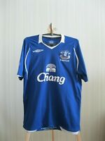 Everton 2008/2009 home Size M Umbro football shirt jersey maillot soccer trikot