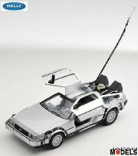DELOREAN TIME MACHINE BACK TO THE FUTURE - Ritorno al Futuro Welly 1/24 New