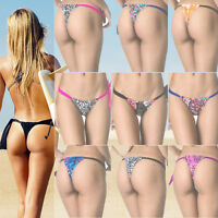 COQUETA bathing suit Bottom Tonga Brazilian Bikini SET Swimsuit Prints Swimwear