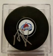 Rob Blake Signed / Autographed Colorado Avalanche Puck with Case