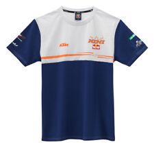KTM Kini Red Bull Team Tee Blue White T-Shirt RRP £31.08!!