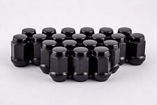 "23 Piece Set 1/2"" Black Bulge Lug Nuts 3/4"" Fit Jeep Wrangler YJ TJ JK W1012HB"