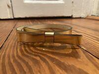 Kate Spade Gold Bow Belt Medium