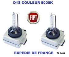 AMPOULES XENON D1S  FIAT 500 500C CROMA 35W 8000K NEUF
