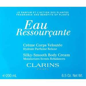 CLARINS EAU RESSOURCANTE SILKY SMOOTH BODY CREAM 200ML - NEW & BOXED - FREE P&P