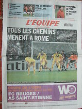 L'Equipe du 27/11/2008 - Bordeaux - L'OM - Paris SG - Gonzalez