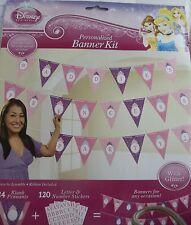 Disney Princess Personalized Banner Kit; Disney Baby Shower; Princess Birthday