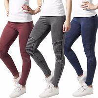 Urban Classics Damen Jeansleggings Jeans Leggins Hose Jeans Treggings Tights