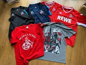 6 Stück Trikot / T-Shirt vom 1. FC Köln