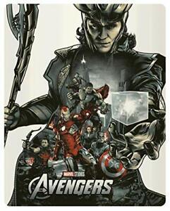 Avengers [4K Ultra HD + Blu-Ray-Édition boîtier SteelBook] / * BLU RAY NEUF